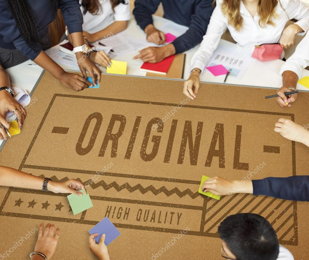 Brainstorming students