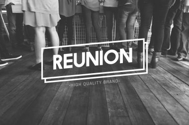 people with Reunion Concept