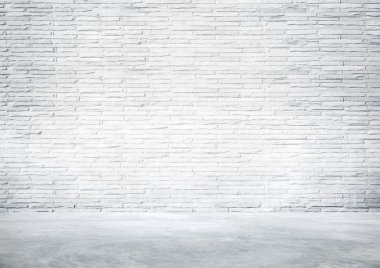 White Industrial Interior Wall