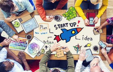 People and Startup Business Concept