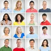 Fotografia multi etnica persone