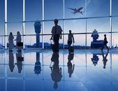 Fotografie lidé na letišti