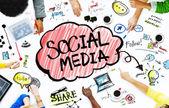 Podnikatelé s konceptem sociální média