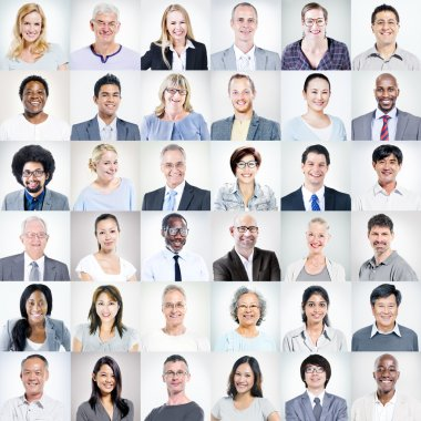 Multiethnic Diverse Business People