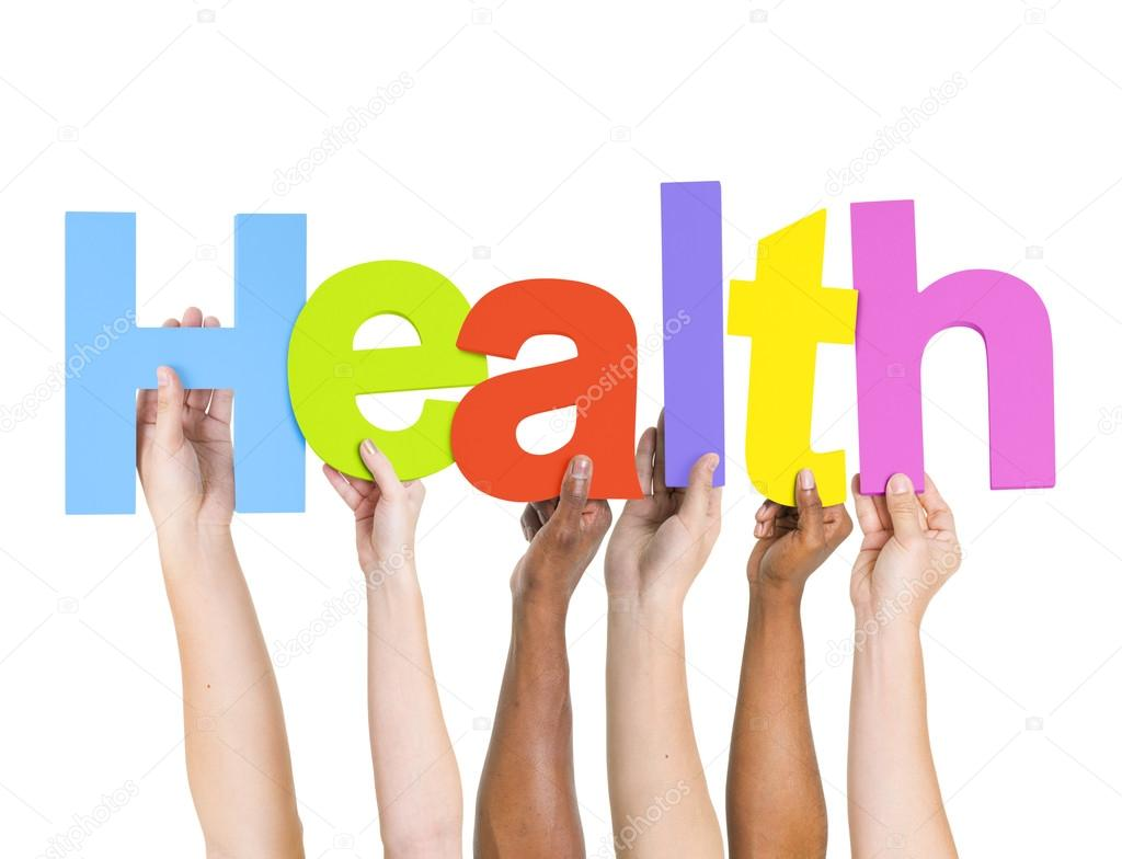 People Holding Letters Health