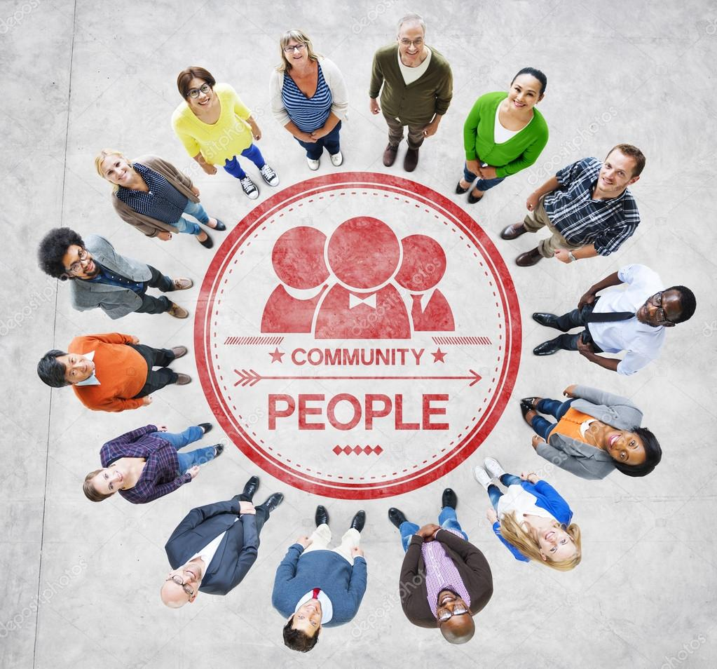 People and Community Concept