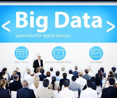Business People at Big Data Seminar