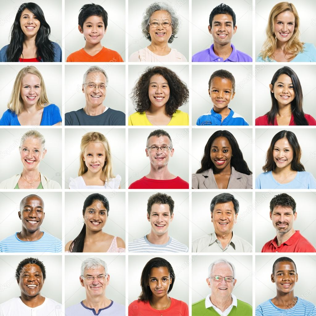 casual smiling faces stock photo rawpixel 59940105
