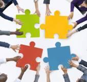 Fotografie Unternehmen Team Unity Jigsaw Puzzle