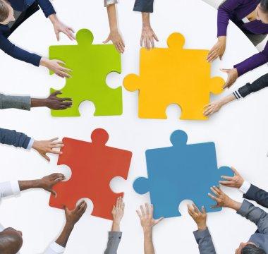 Business Team Unity Jigsaw Puzzle