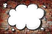 Photo Cloud Shape Speech Bubble