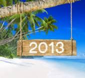 Nádherná pláž a 2013 znamení