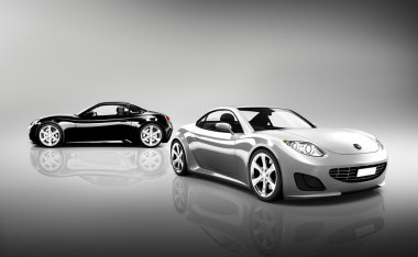 Two Sport Cars