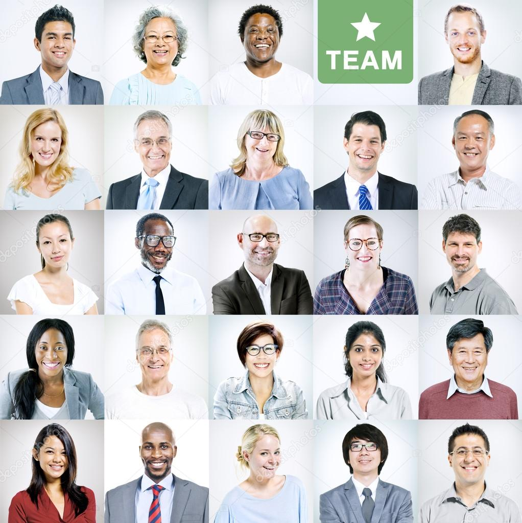 Business  People of different nationalities and ages