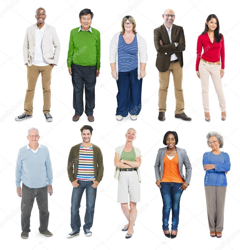 фото разных возрастов людей