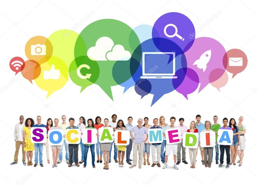social media and people