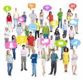 Skupina lidí sociálních sítí
