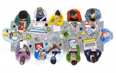 Designers Working in the Office