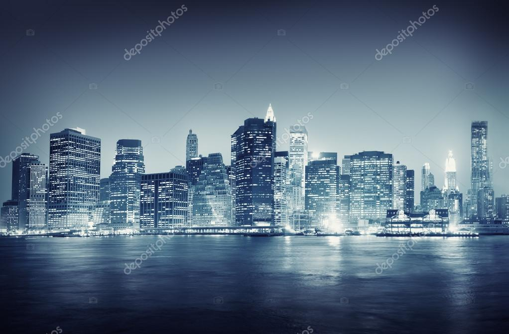 New York Buildings, Travel Concept
