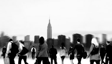 Business People walking in the city
