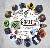 Fotografie concept of business benefits
