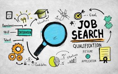 Job Search Qualification Concept