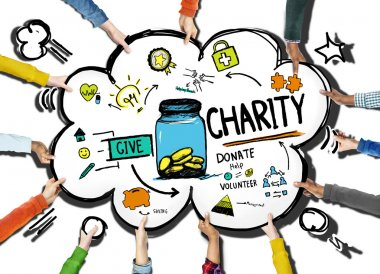 Donate Charity Concept