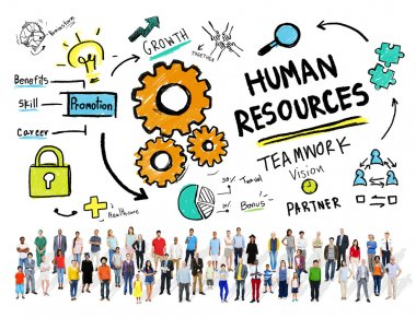 Human Resources Business Concept