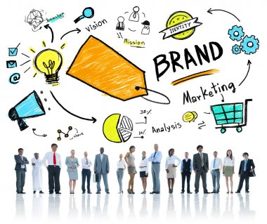 Brand Marketing Business Concept