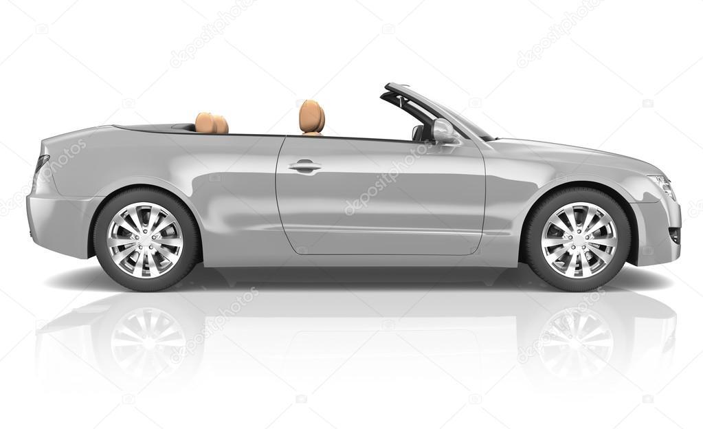 Luxury modern Car
