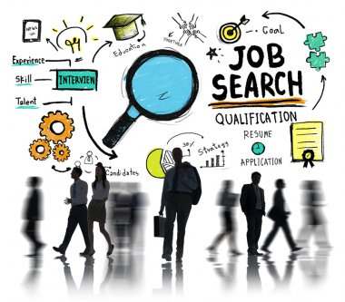 Job Search Concept with Business People
