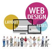 Fotografie Web-Design, Content, Creative Website reagieren Konzept
