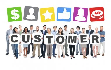 Customers, Business People Team, Teamwork, Success, Strategy