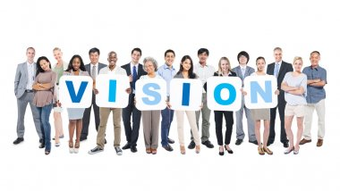 Word Vision and Business People, Teamwork