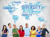 Skupina lidí myslí a rozmanitosti Společenství