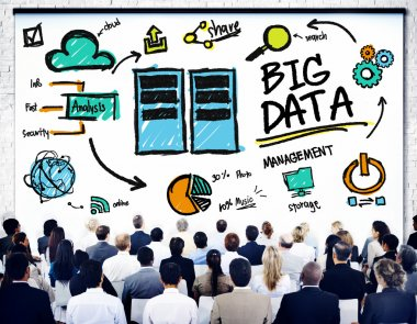 Business People and Big Data