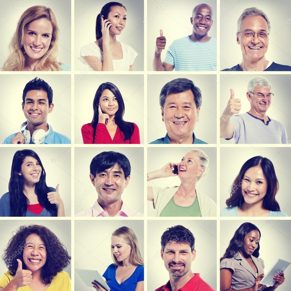 Multi Ethnic People Community Concept