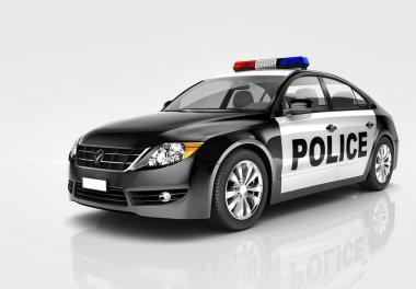 Comtemporary Police Car