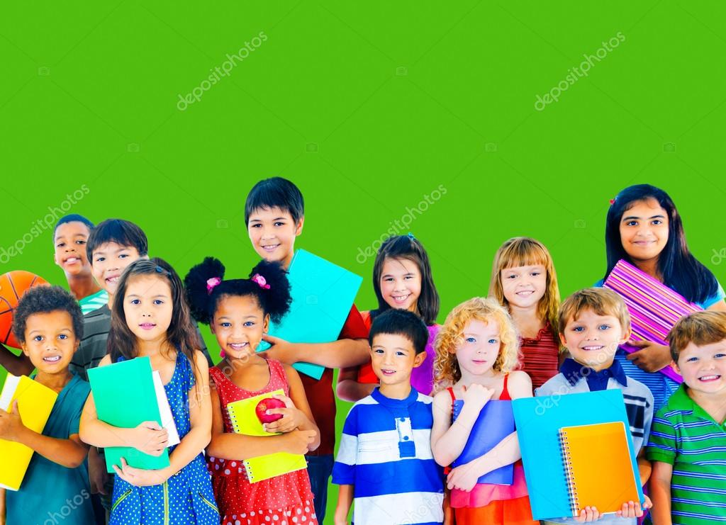 Group of Multi Ethnic students