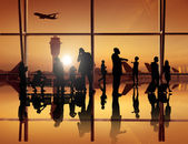 Fotografia Aeroporto, trasporto di volo dellaeroplano