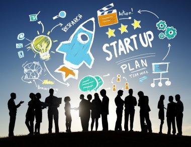 Business people and Start Up Concept