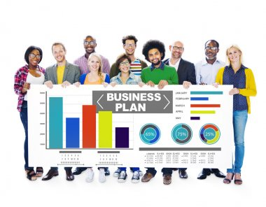people and Business plan graph
