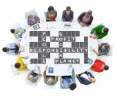 Fotografie Diverse people and Social Responsibility Concept