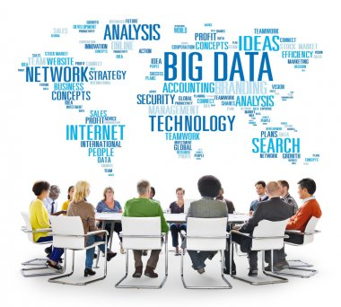 Diverse people and Big Data Storage