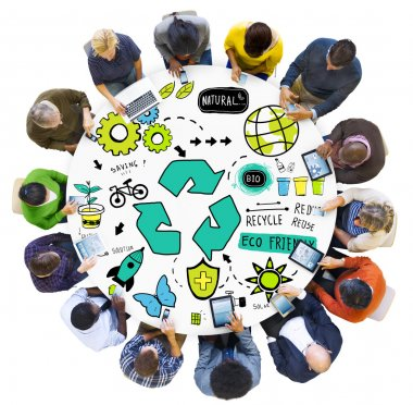 People and Bio Eco Environment Concept