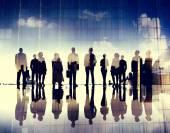Fotografie Geschäftsleute im Tagungsraum