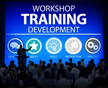 Diverse people and Workshop Training