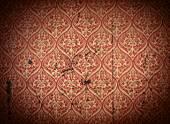 parete di linoleum graffiato concetto di texture di sfondo materiale