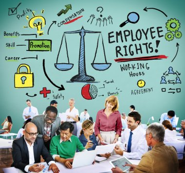 Employee Rights Compensation Concept