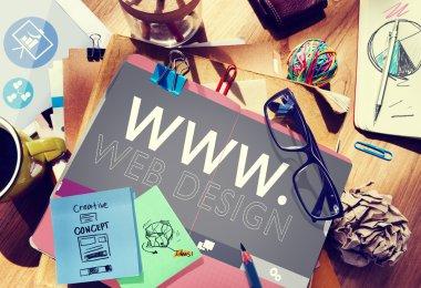 WWW Web Design Creative Concept